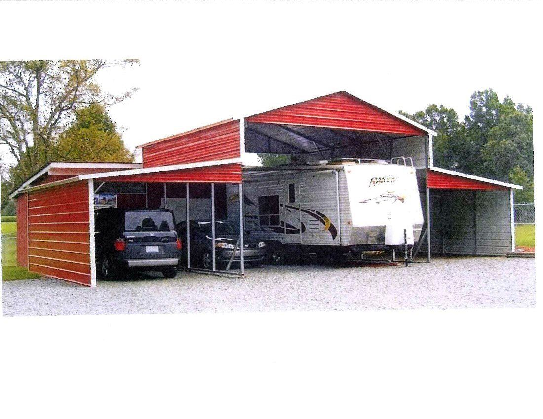 Boat and RV Ports (With images) Rv carports, Carport, Shed