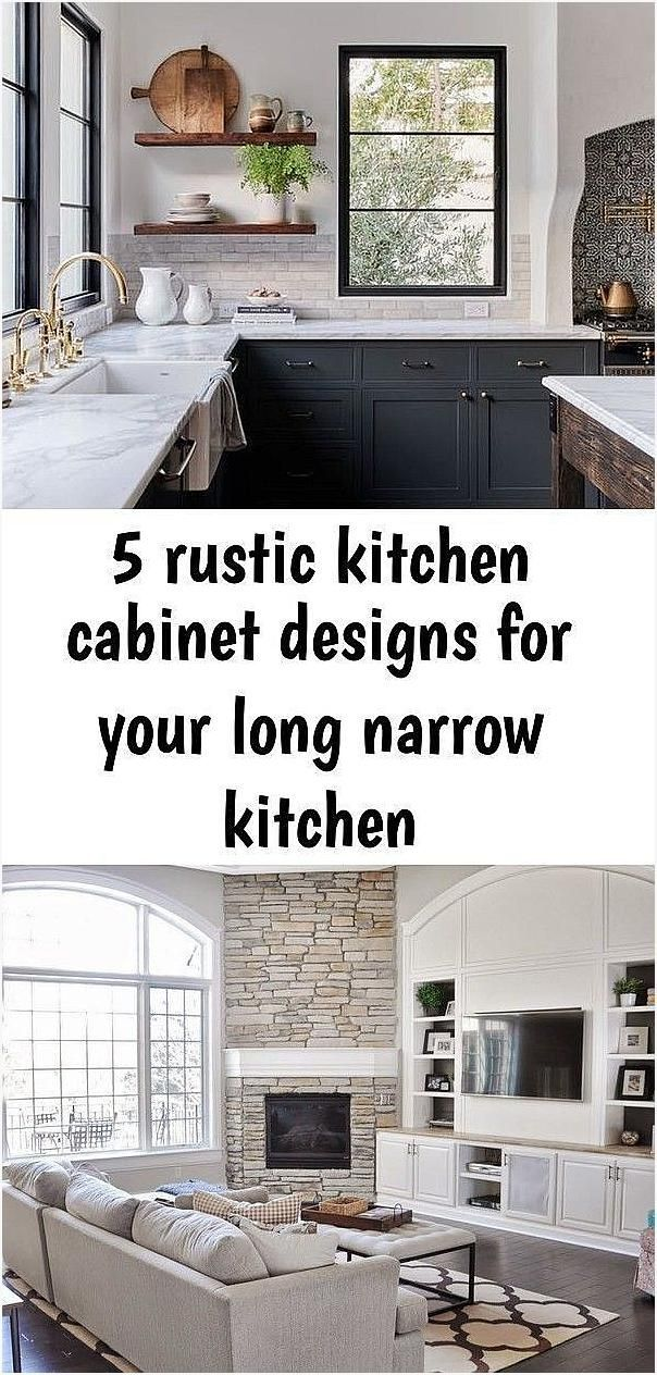 5 rustic kitchen cabinet designs for your long narrow kitchen #longnarrowkitchen 5 rustic kitchen cabinet designs for your long narrow kitchen 5 rustic kitchen cabinet designs for your long narrow kitchen Babi babi0321 Babi 5 rustic kitchen cabinet designs for your nbsp hellip #cabinet #cornerfireplacewithbuiltins #designs #kitchen #narrow #rustic #longnarrowkitchen
