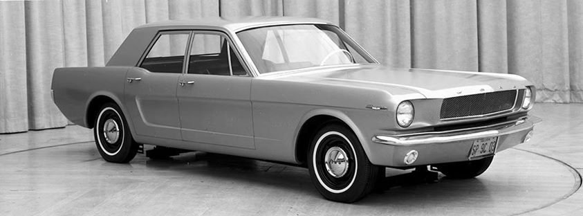 1965 Ford Mustang 4 Door Sedan Prototype Ford Mustang Mustang Concept Cars