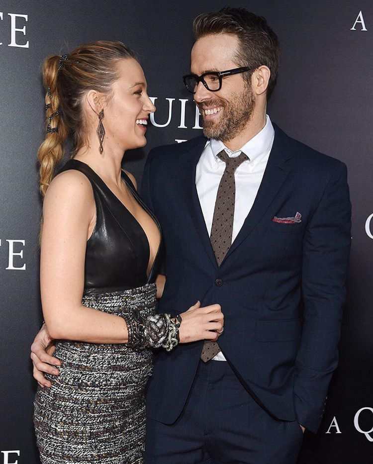 Blake Lively and Ryan Reynolds Got Married Today Marion