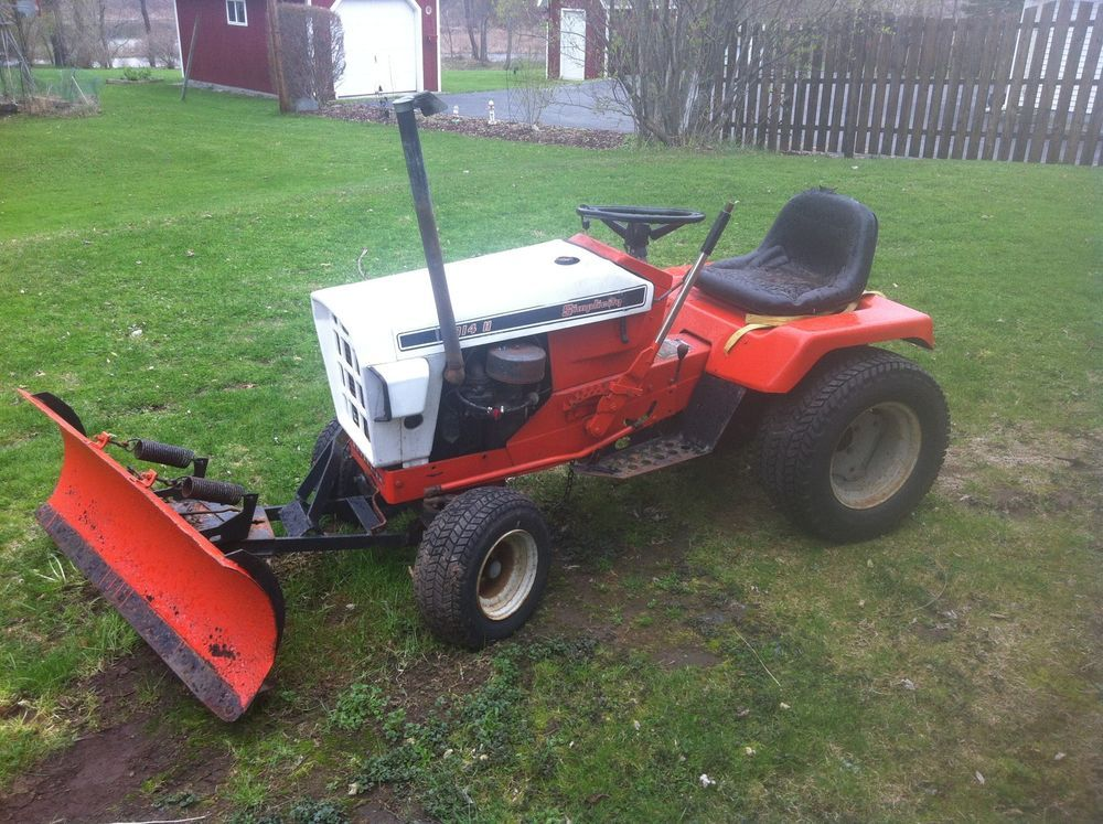 Details about Simplicity Sovereign Garden Tractor Mower