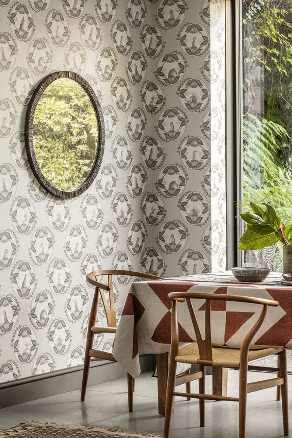 ardmore cameos wallpaper by cole son forms part of the new rh pinterest com