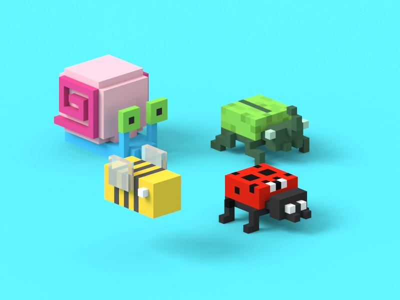 Team i in 2020 Minecraft blueprints, Pixel art, Dribbble