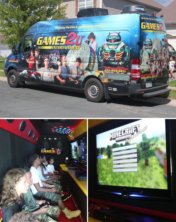 Trend Alert Video Game Truck Parties Game Truck Party Truck Party Video Games
