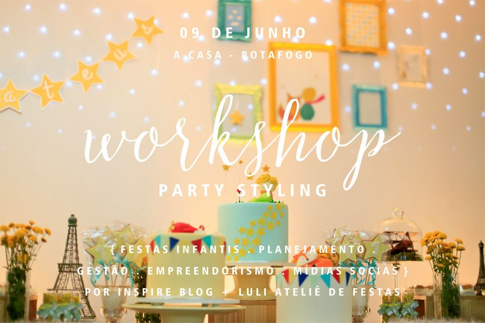 worshop party styling festas infantis inspire mom and kids