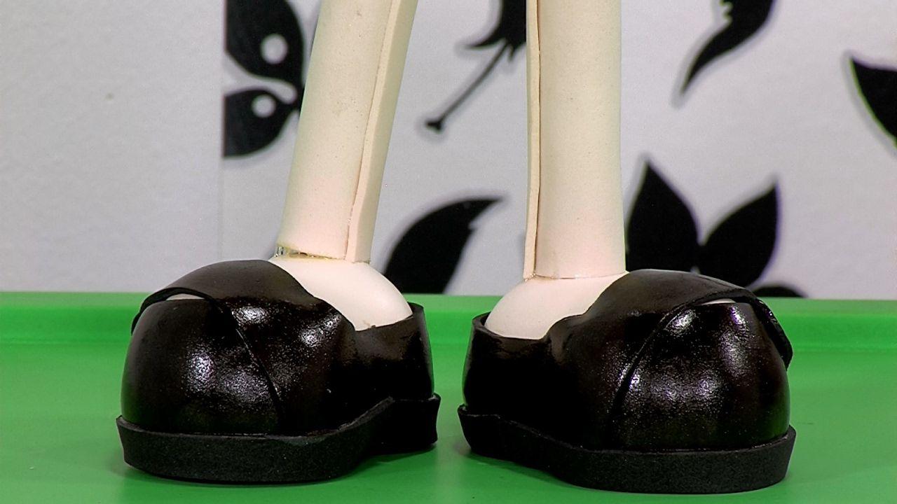 Cómo Elaborar Muñeca Modelada Pies y Piernas (Parte 1)- Hogar Tv  por Ju...