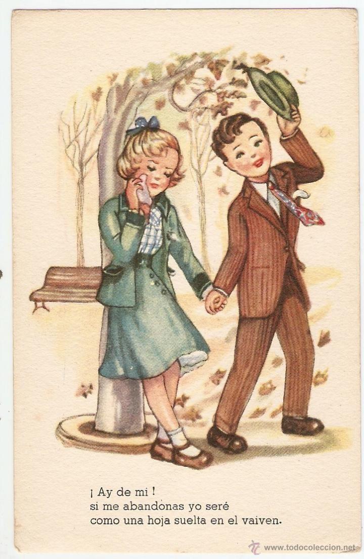 postal - ediciones del arte - editorial artigas - melodías selectas, k serie 159 - ilustrador girona - Foto 1