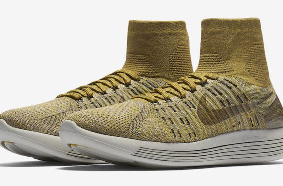3653c782e841a Now Available  NikeLab LunarEpic Flyknit Golden Beige
