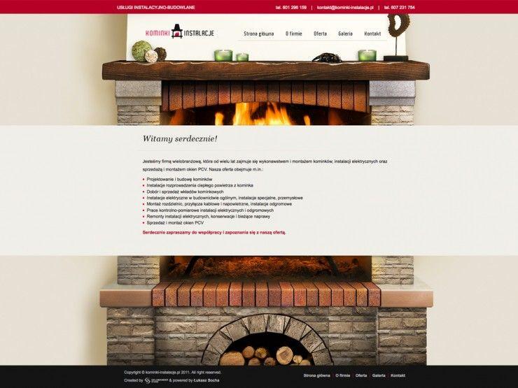 Kominki-Instalacje.pl - webdesign