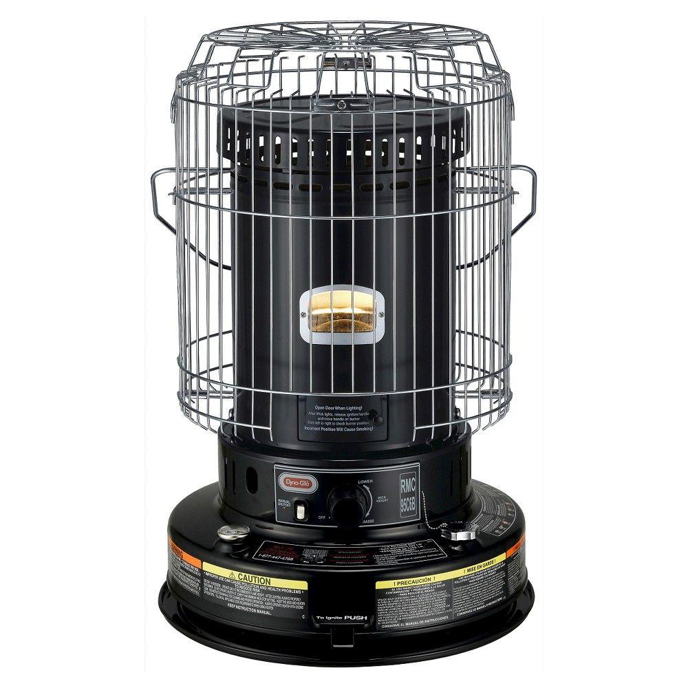 DynaGlo 23K BTU Indoor Kerosene Convection Heater, Black