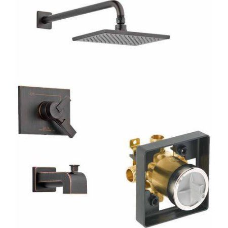Delta Vero Tub/Shower Kit Pressure-Balance Dual-Function Cartridge, Available in Various Colors, Bronze