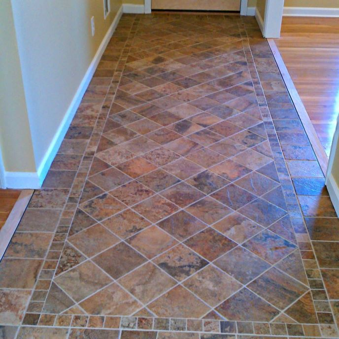foyer tile ideas entryway flooring
