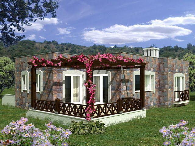 مخططات فلل دور واحد تصاميم مخططات فلل دور واحد مخططات فلل صغيره تصميم فيلا Garden Small Villa Garden Room Outdoor Structures