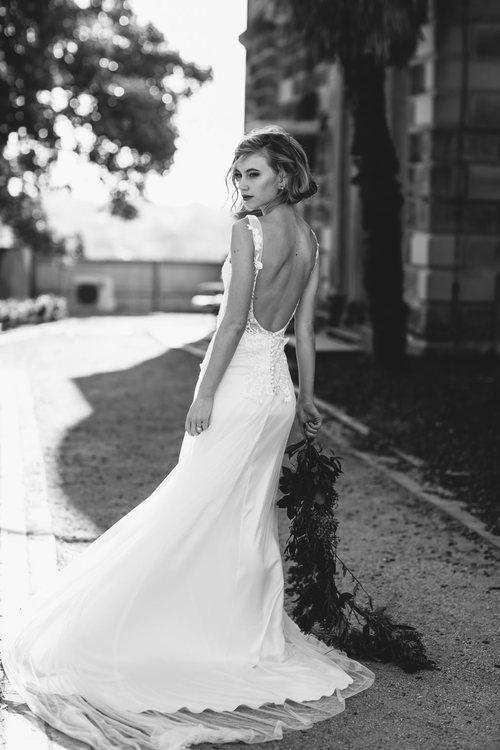 Moira Hughes Couture Wedding Dress Sydney Paddington Lizzy