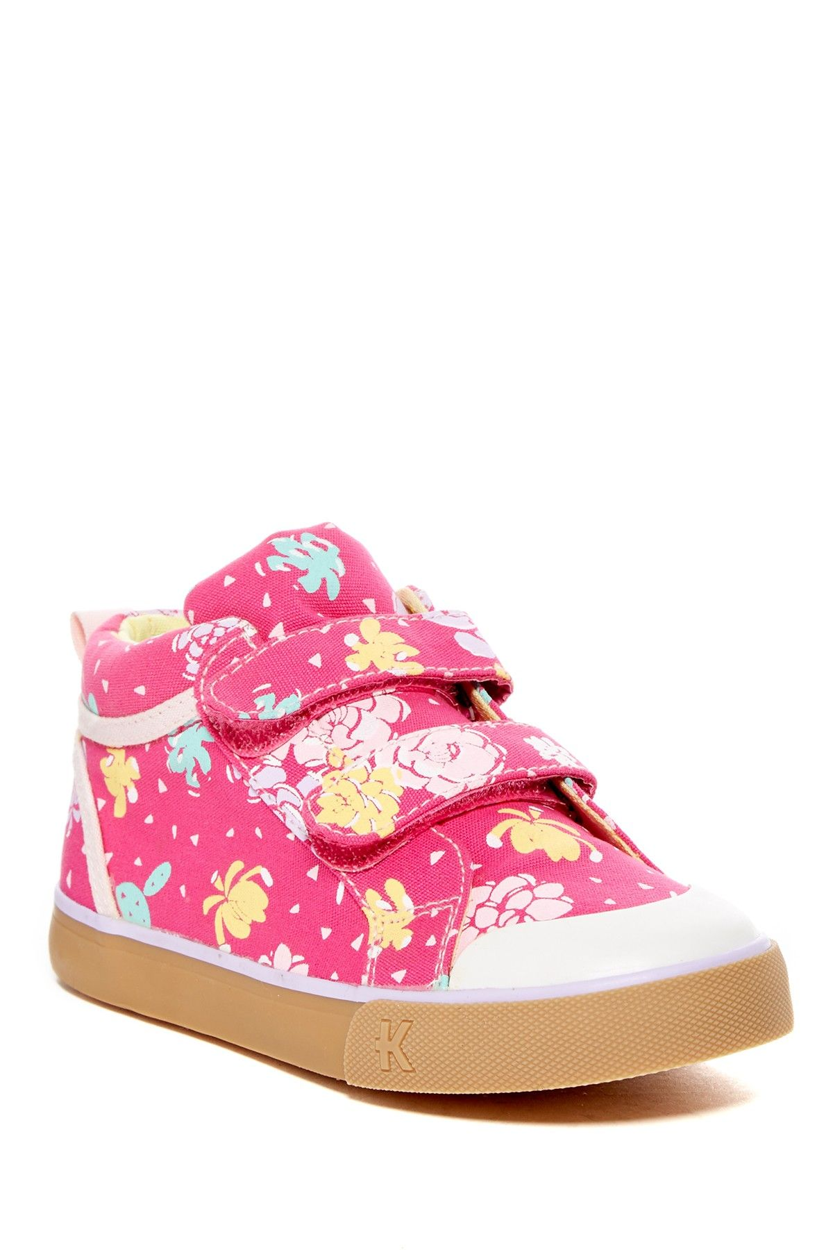 Roxy Floral Hi Top Sneaker (Toddler & Little Kid)