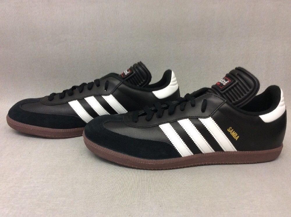 Adidas Performance Men's Samba Classic Indoor Soccer Shoes Black