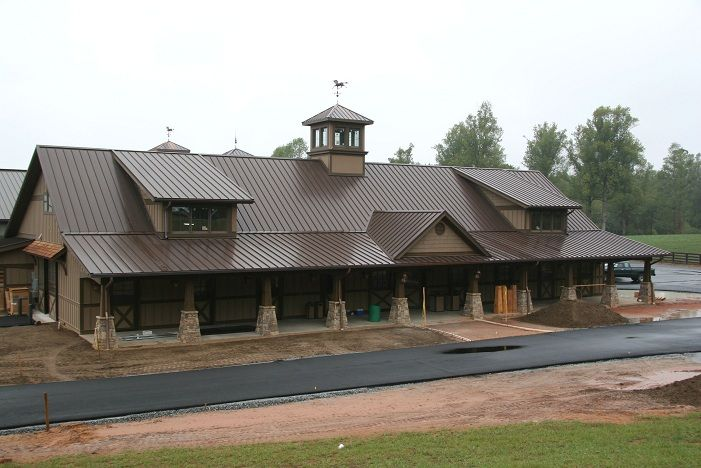 Best Houses With Bronze Metal Roof And Shingles Metal Roof 400 x 300