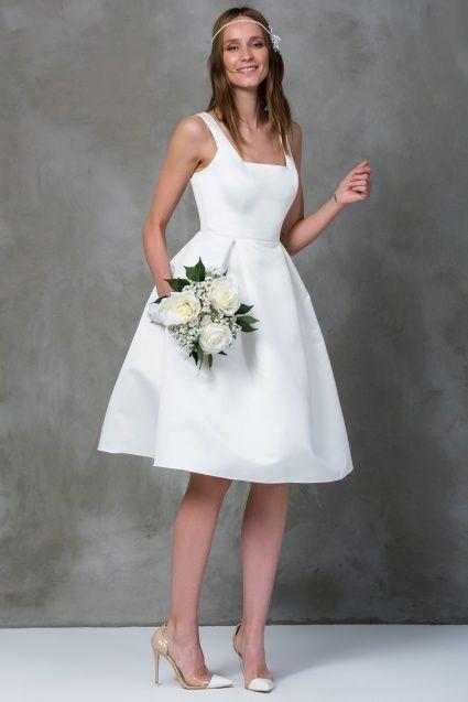Kare Yaka Ekru Klos Elbise Balo Elbisesi Elbise The Dress