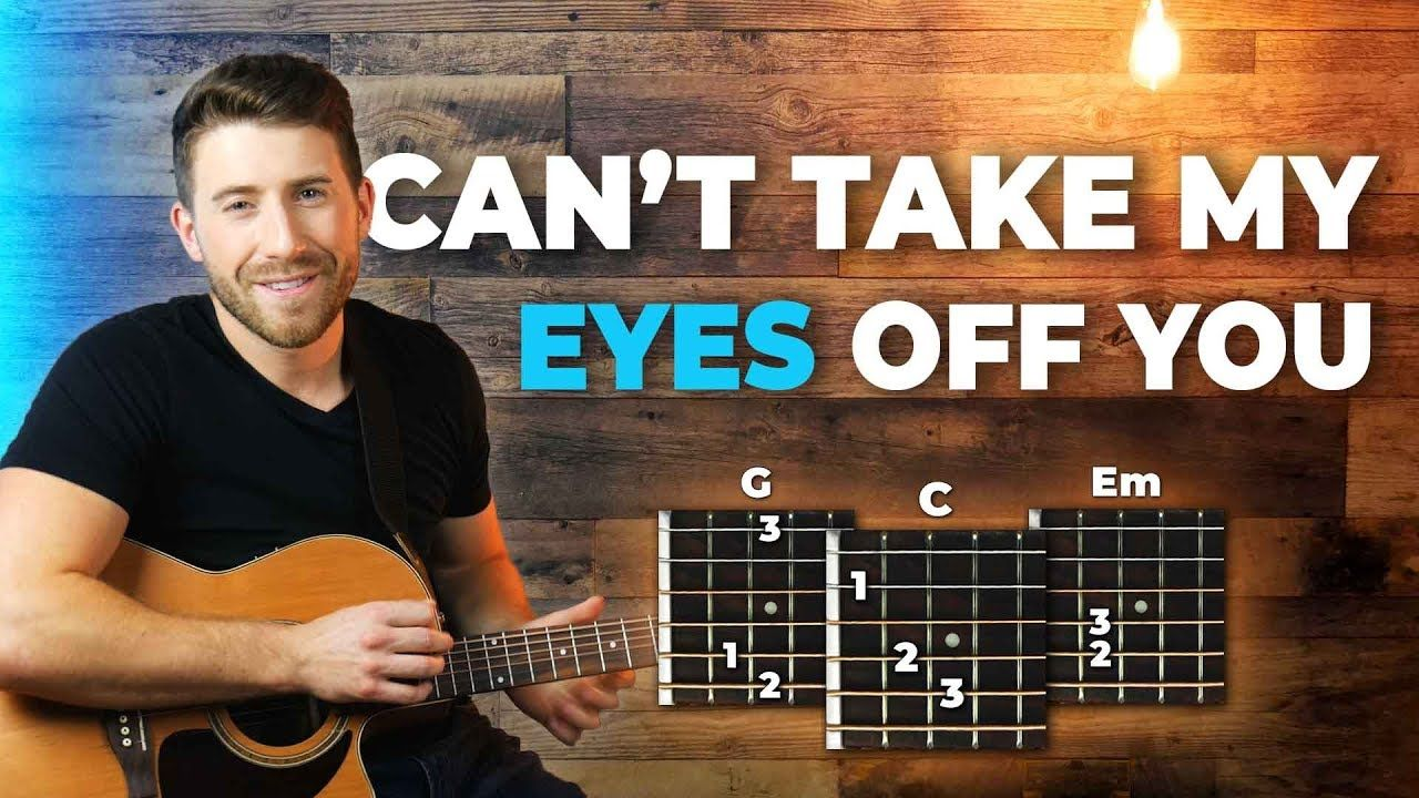 Cant take my eyes off you joseph vincent guitar