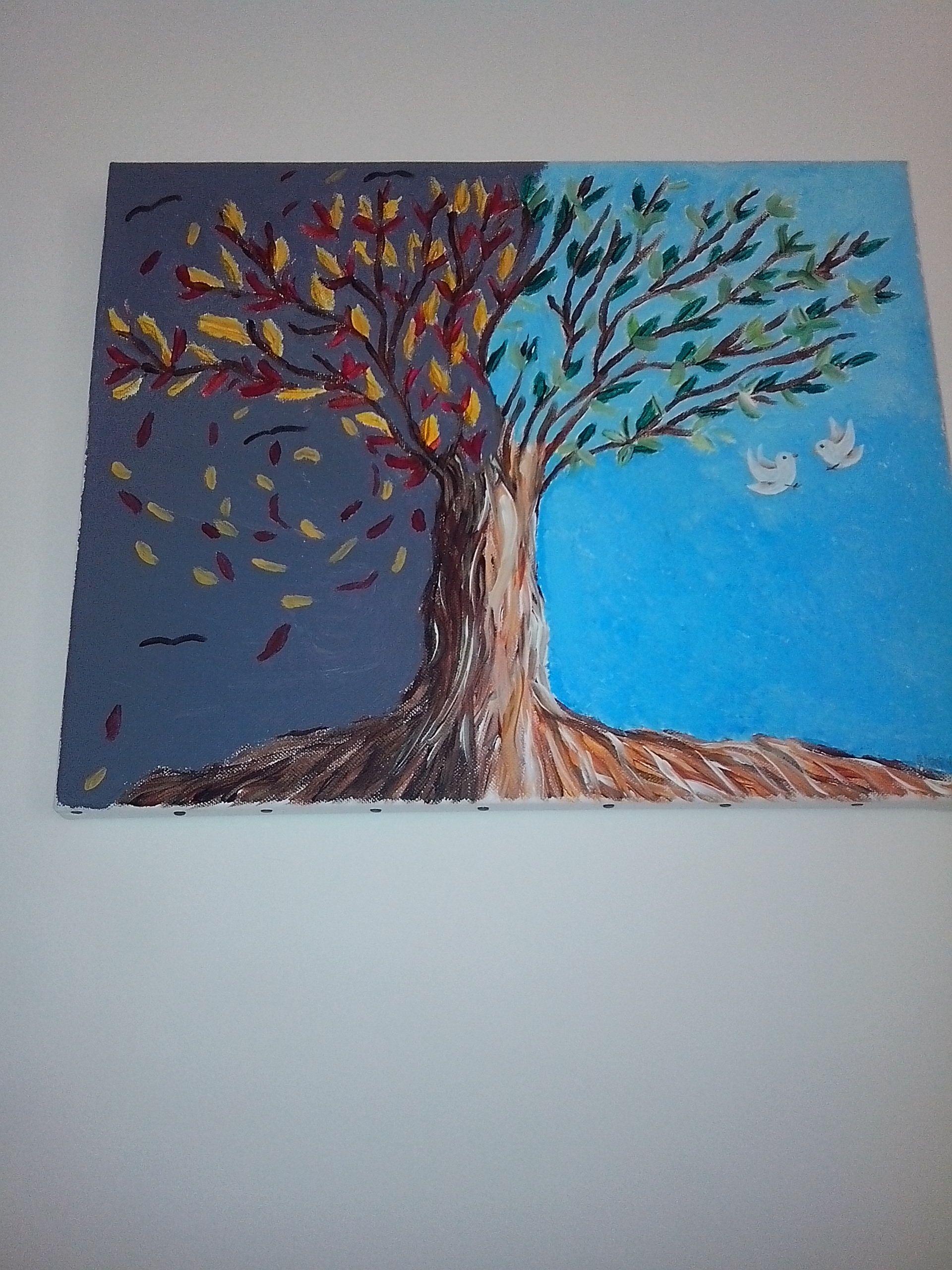 ombre et lumiere | Tableau acrylique, Ombre et lumière, Acrylique