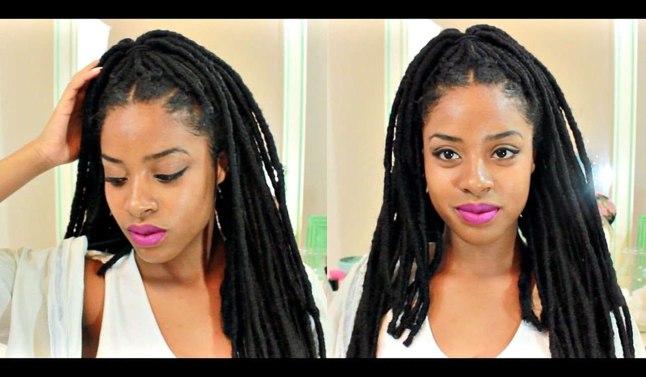 Sensationnel crochet braid faux locks natural looking youtube