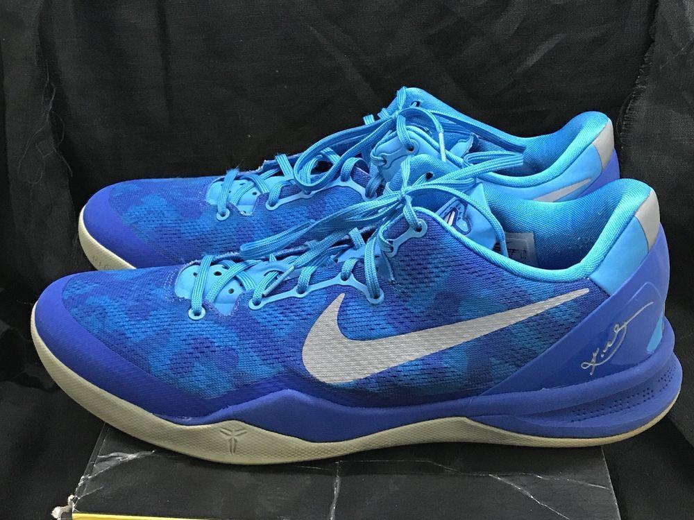 promo code 6c246 1dce0 ... sweden nike kobe 8 system sneakers shoes blue glow strata grey gm royal  size 12 3d1b0