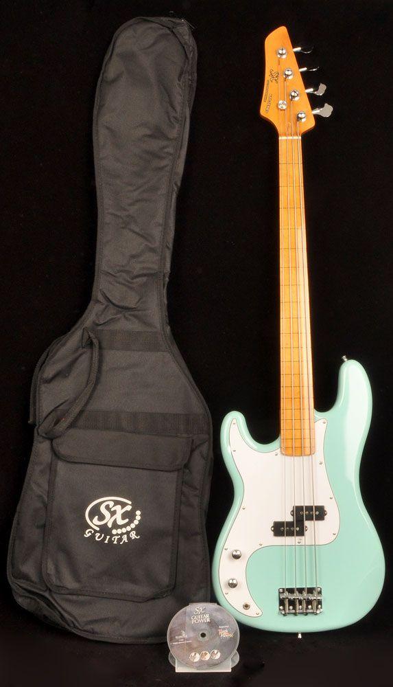 Sx Ursa 1 Mn Pbu Fl Fretless Left Handed Bass Guitar Left Handed Bass Bass Guitar Learn Bass Guitar