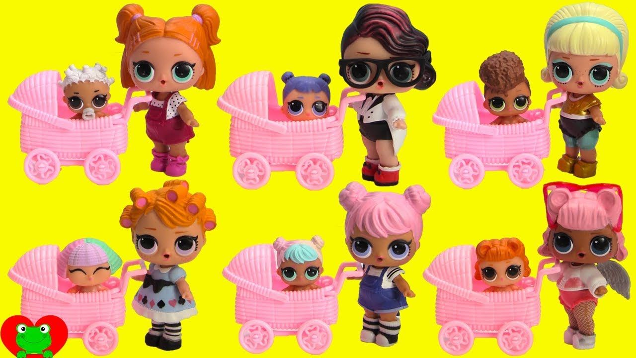 Lol Surprise Confetti Pop Dolls And Lil Sisters In