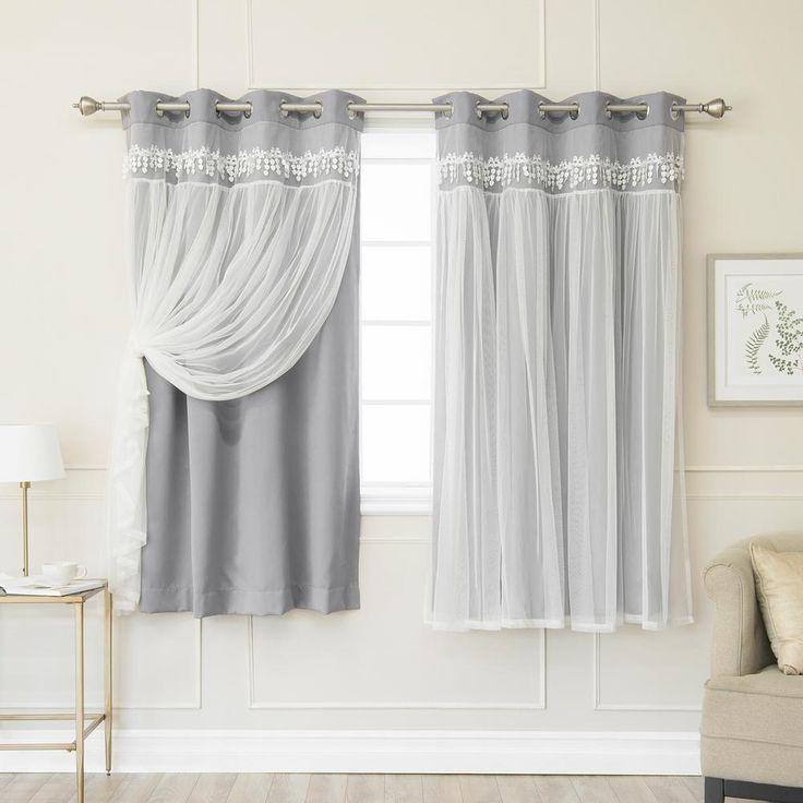 #2pack #Blackout #curtain #Elis #fashion #grey #home