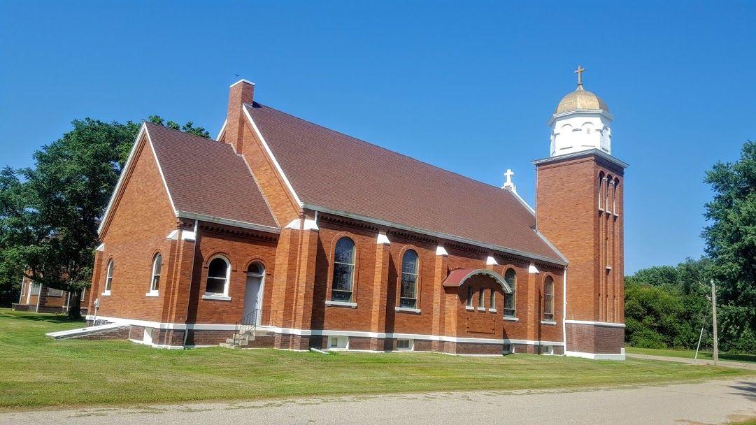 Holy Family Catholic Church in Heartwell (Kearney County