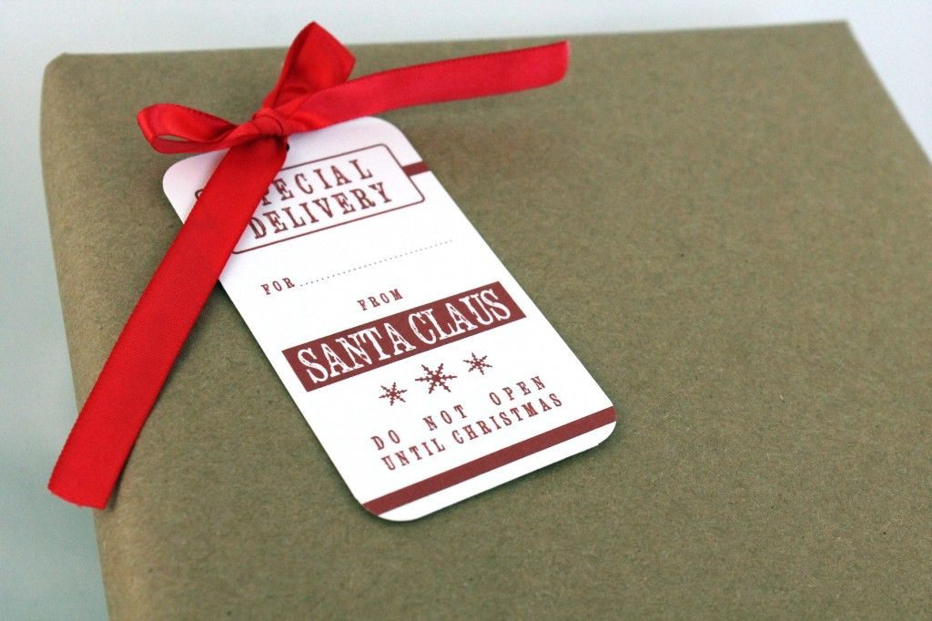 Free printable santa gift tags joy to the world pinterest free printable santa gift tags negle Images