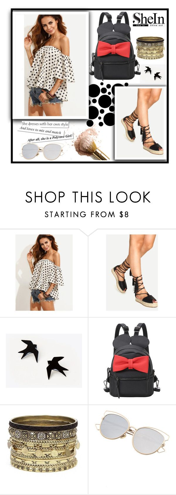 """""""Shein 1."""" by b-necka ❤ liked on Polyvore featuring Daytrip, Sheinside and shein"""