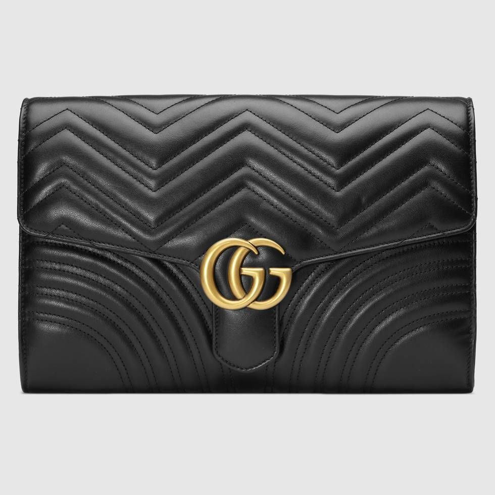 Shop the GG Marmont clutch by Gucci The GG Marmont clutch has a softly structured shape with  2020 and purses artesanal designer diy drawing louis vuitton mochilas moda o...