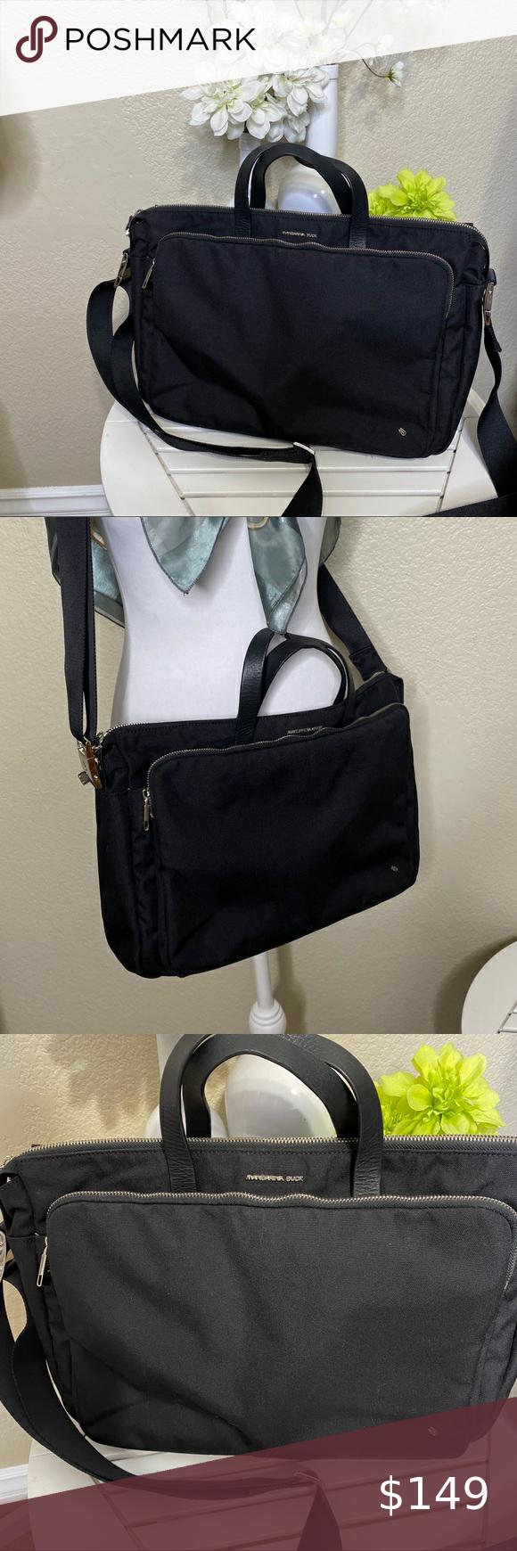 Mandarina Duck Womens Briefcase Laptop Bag Black in 2020 ...