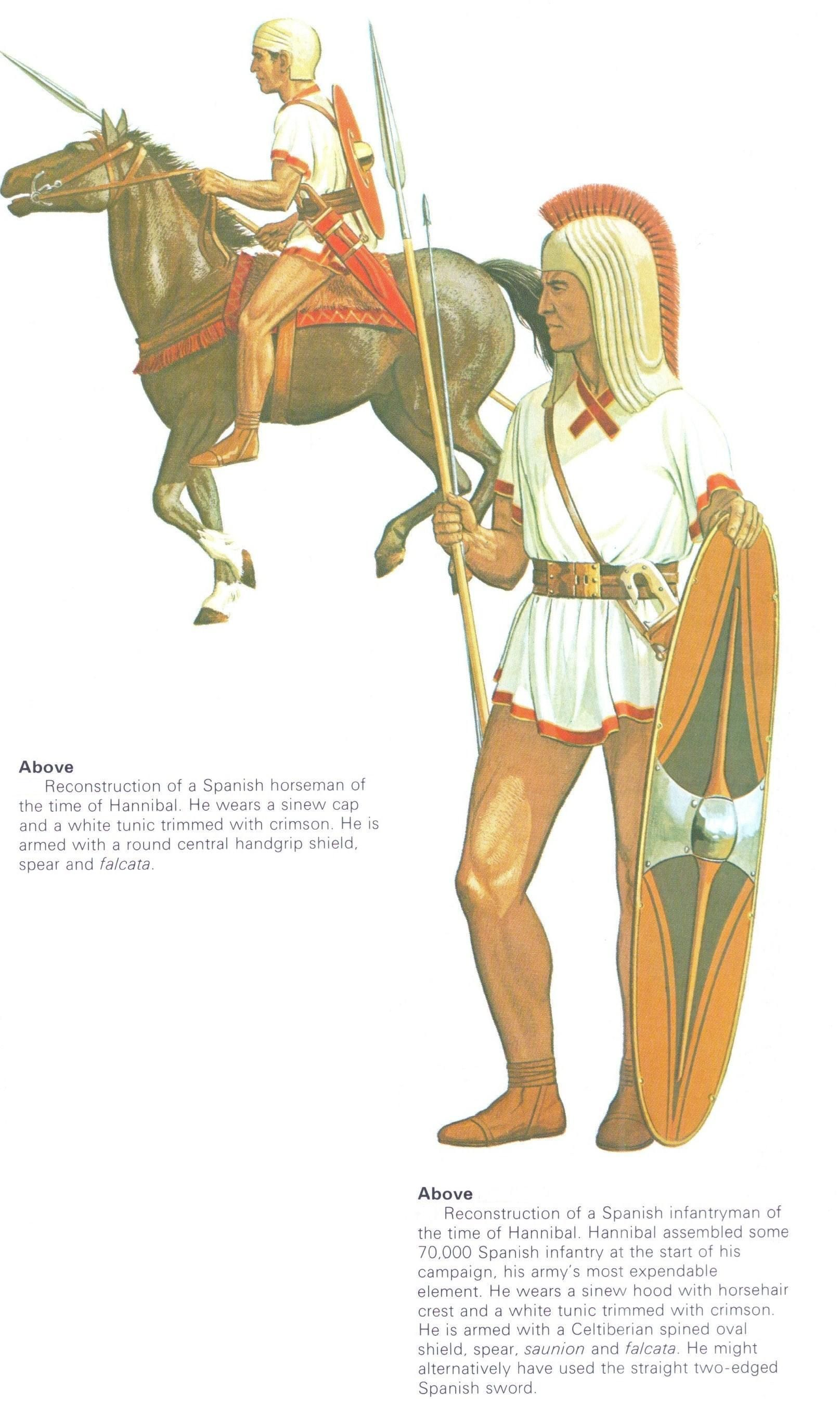 Spanish Horseman Infantryman Of Hannibal S Army Circa 200 B C Peter Connolly Cavalry User Aethon Legione Romana