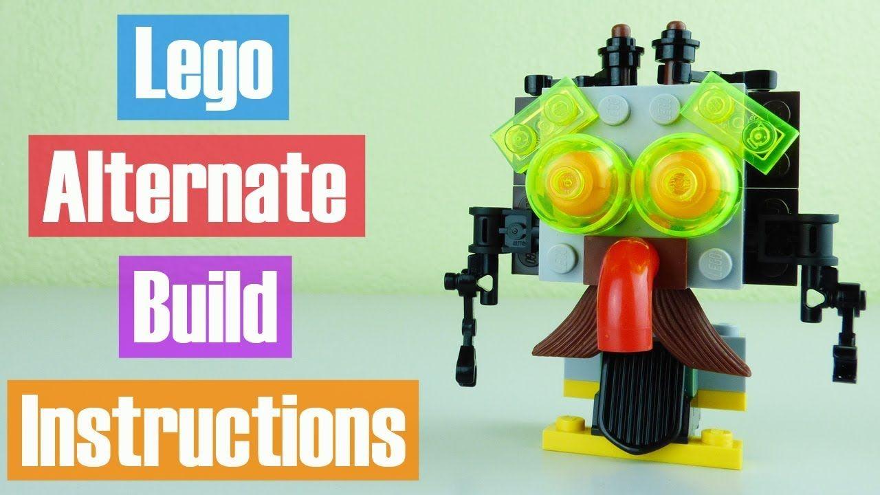 Lego Batman Movie Scarecrow Fearful Face Off Alternate Build