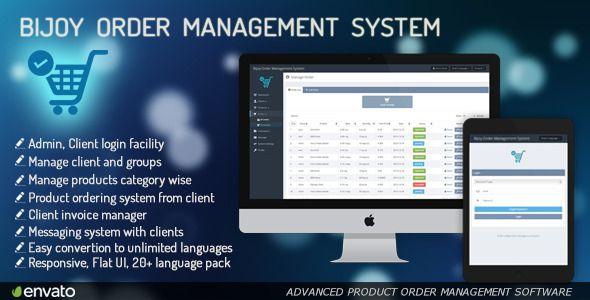Bijoy Order Management System Pro    codecanyonnet item bijoy - resume management system