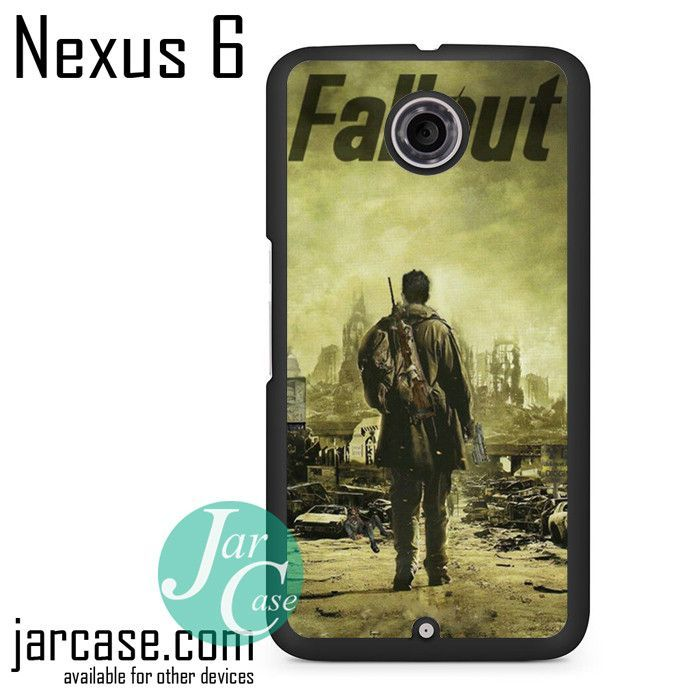 Fallout 4 Cool Poster Phone case for Nexus 4/5/6