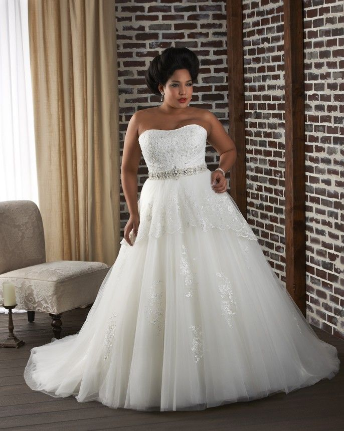 For the curvy bride shopping for a wedding gown can seem like a ...