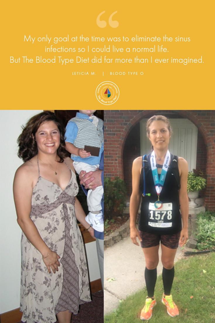 success stories blood type diet