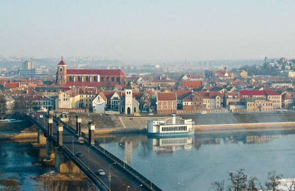 Best Kaunas Panorama To Visit Find It V Cepinskio Str Reach It By Car Or Historical Funicular Kaunas Panorama Route