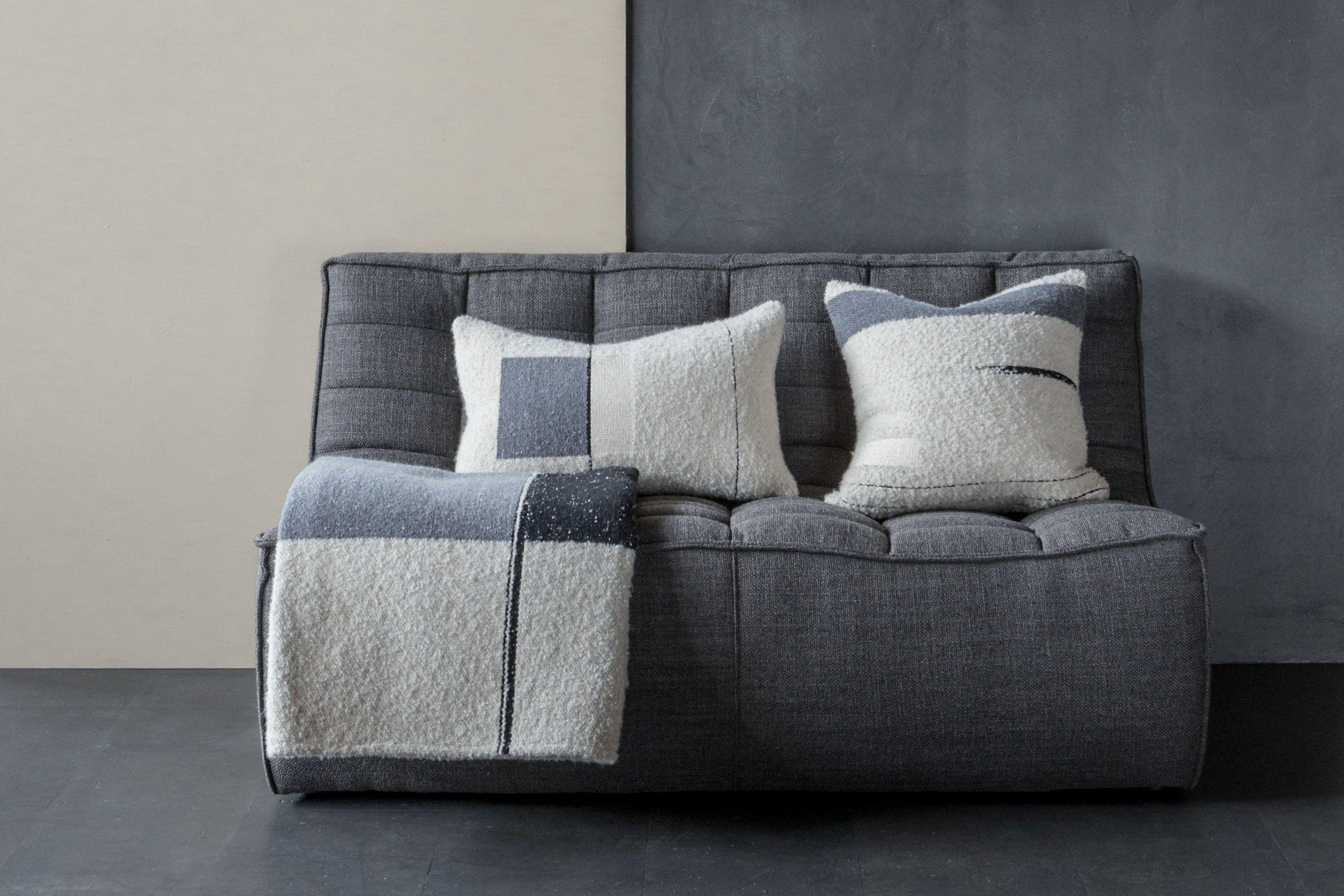 N701 Sectional Sofa Dark Grey In 2020 Sectional Sofa Grey