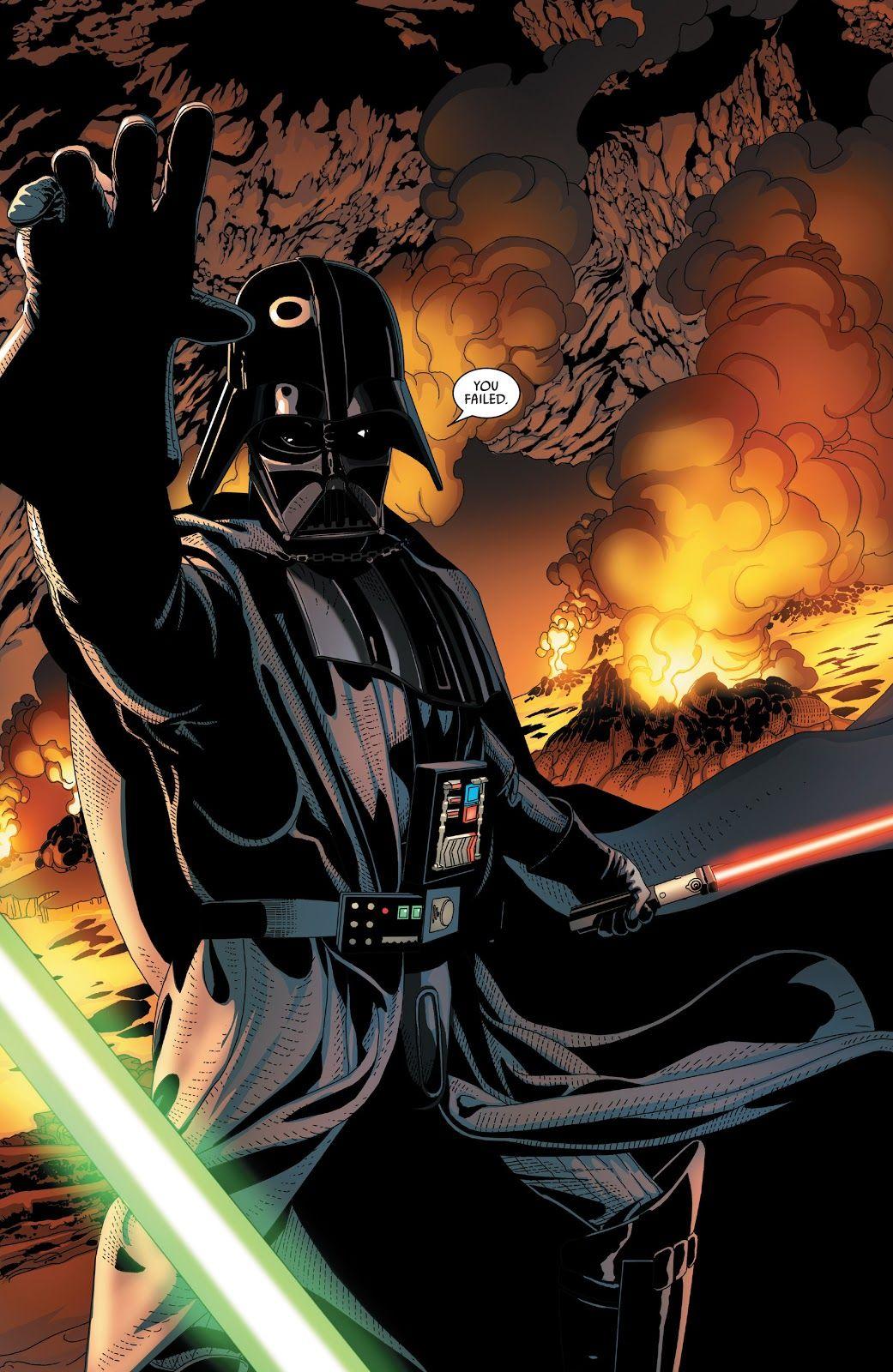 Darth Vader 2015 Issue 18 Read Darth Vader 2015 Issue 18 Comic Online In High Quality Darth Vader Star Wars Art Star Wars
