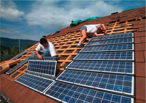 Tejas Fotovoltaicas Energia Solar Paneles Solares Arquitectura Sustentable