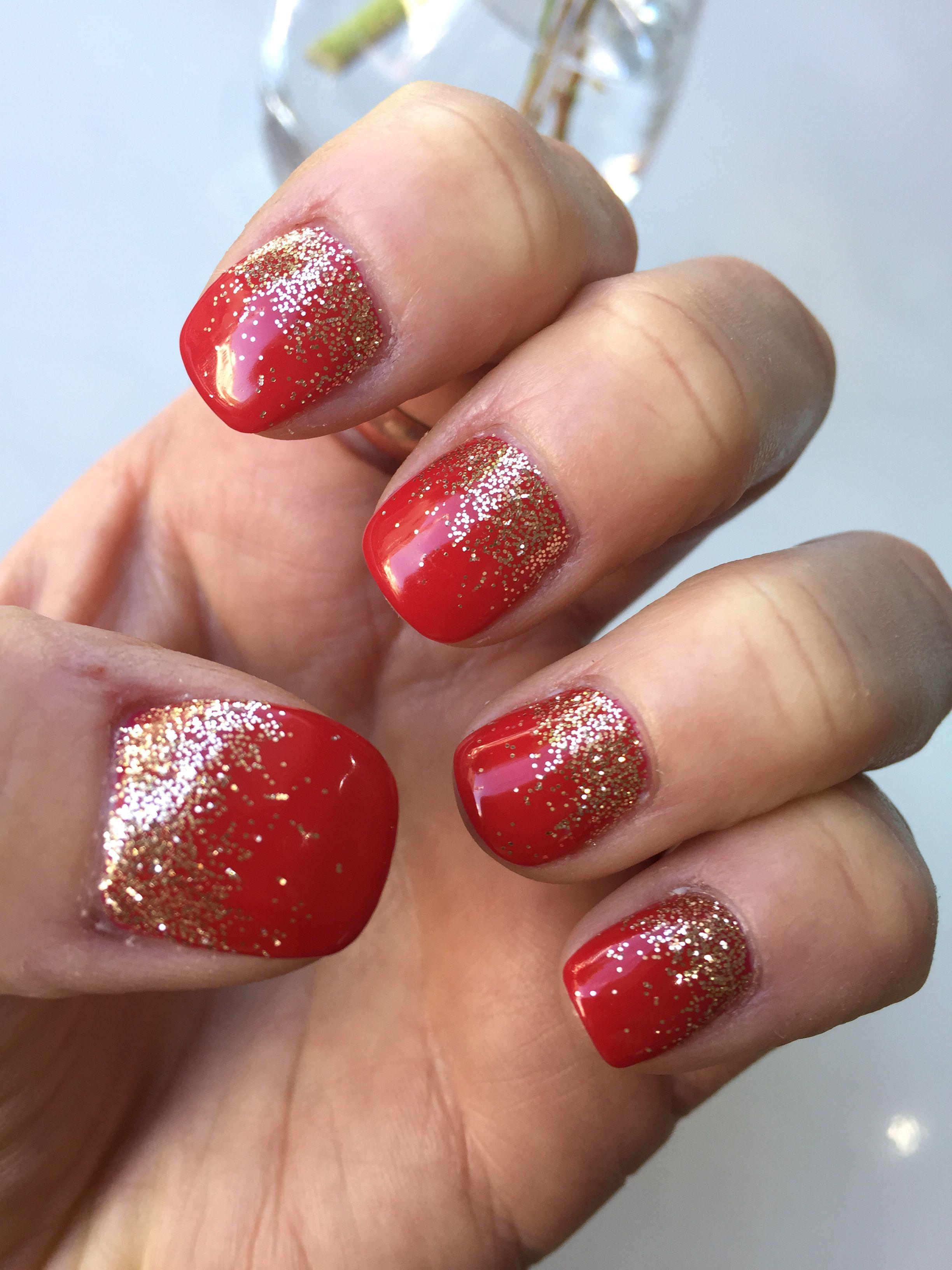 Christmas nails holidaynails shortnails nailart