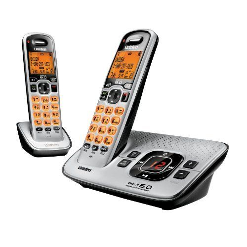 Uniden D1680 2 Dect 6 0 Cid Itad Answering System 2 Handsets By Uniden 40 56 From The Manufacturer Cordless Phone Cordless Telephone Handset