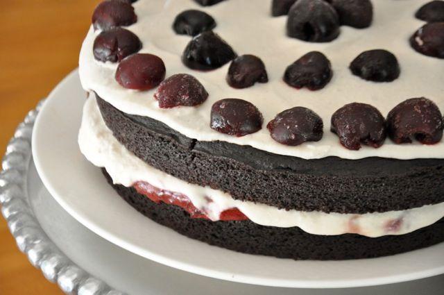 Chocolate Healthy Birthday Cake with Chocolate Frosting Nani
