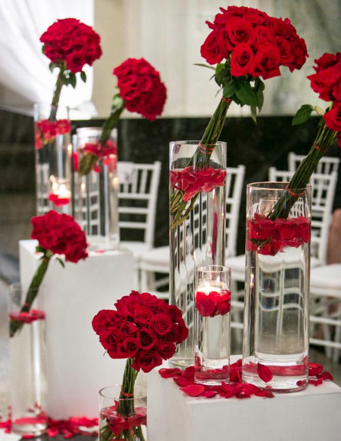 enchanting kitchen table centerpiece ideas | Get Inspired: 54 Enchanting Wedding Centerpiece Ideas ...