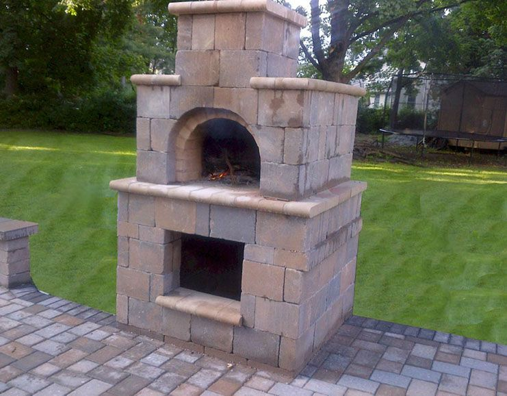 Terpstra Family Wood Fired DIY Brick Pizza Oven In New Jersey By BrickWood  Ovens