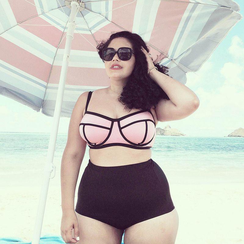 b524ec0a7eb08 Oahu | Tanesha's Style | Bademode, Badeanzug und Mode für rubensdamen
